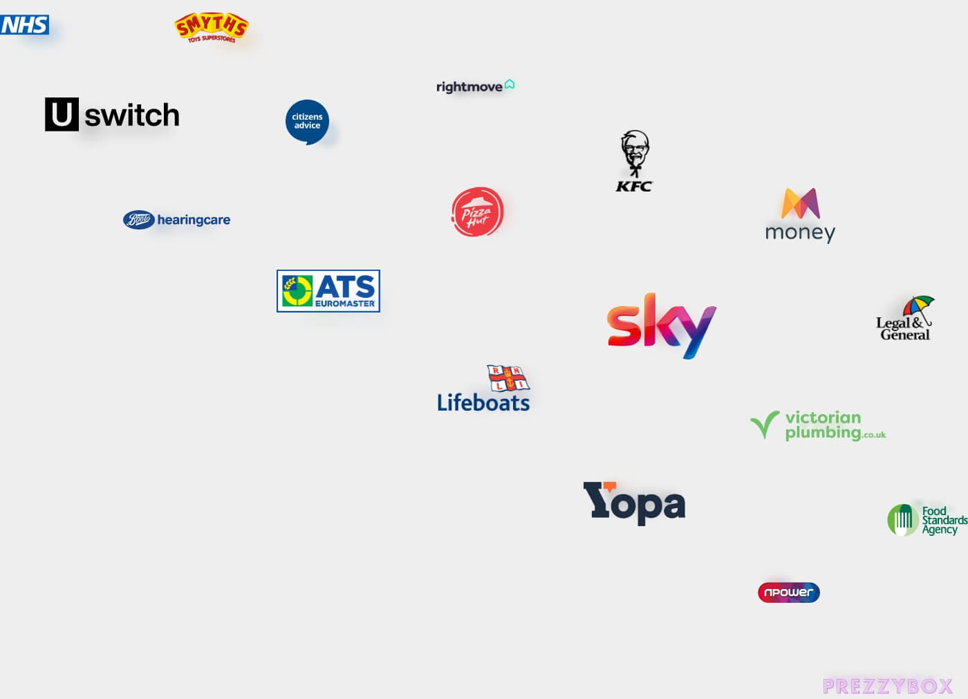 Postcoder customer stories - An image displaying the logos of some of our customers